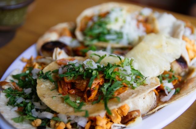 Image: Taco Tuesday: Grit-fried chicken taco (gluten free)
