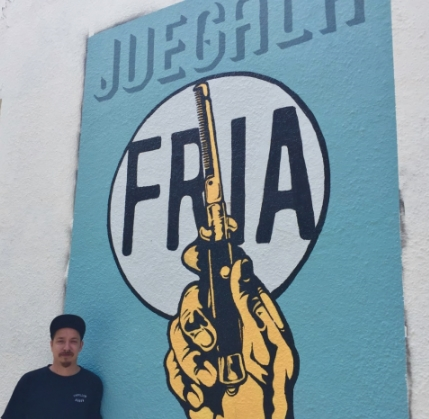 Image: Austin's newest mural art: 'Juegala Fria: Play it Cool Austin'